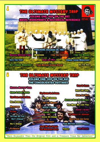 The Beatles TMOQ The Ultimate Mystery Trip Vol. One 2 Disc DVD