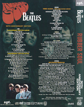 Rubber Soul 50th Anniversary CD and 2DVD Set