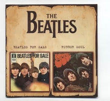 The Beatles For Sale and Rubber Soul CD