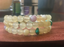 Jade and Turquoise Gemstone Bracelet