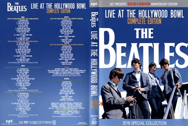 Hollywood Bowl LIVE 50th Anniversary 2CD and 2DVD Set