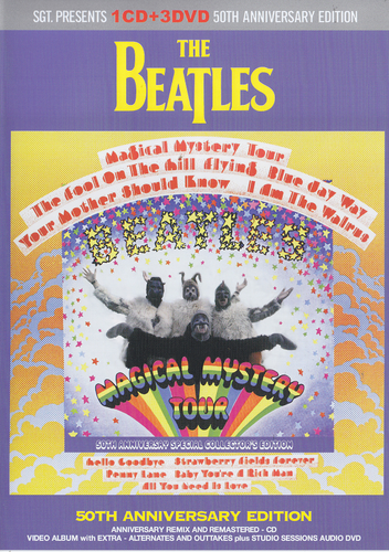 Magical Mystery Tour 50th Anniversary CD and 3DVD Set
