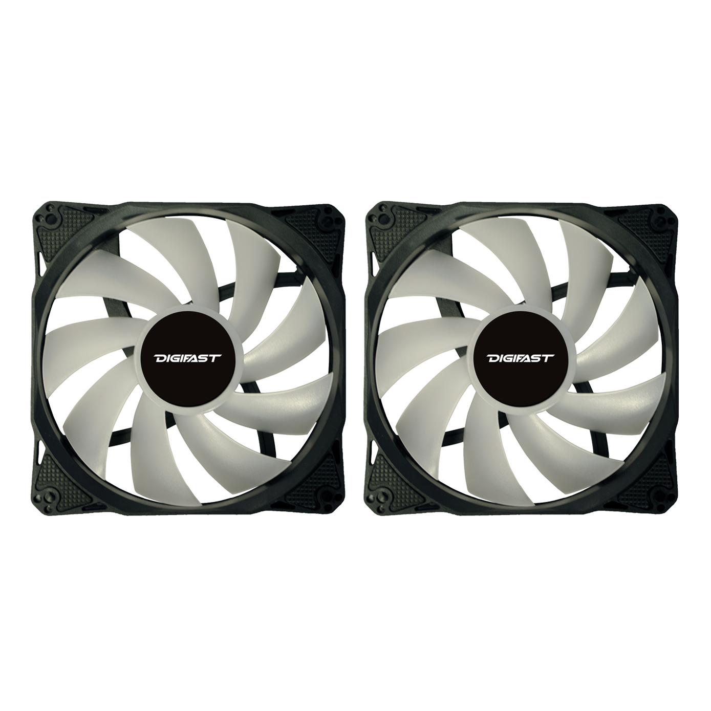 Digifast Notos quantity 2 120 mm RGB fan