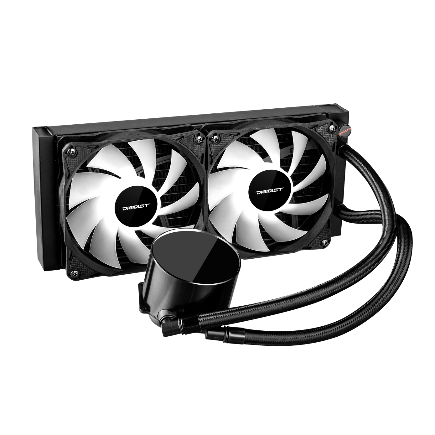 Digifast Notos AIO CPU cooler with 240 mm radiator