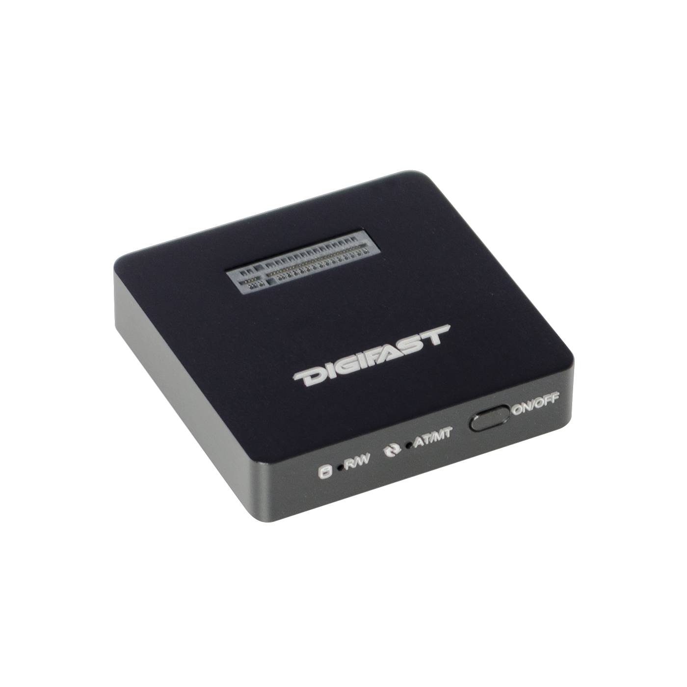 Digifast M.2 NVMe SSD Docking Base, USB3.2 GEN2 Type-C (10 Gbps), Lightweight, Portable Design - Black