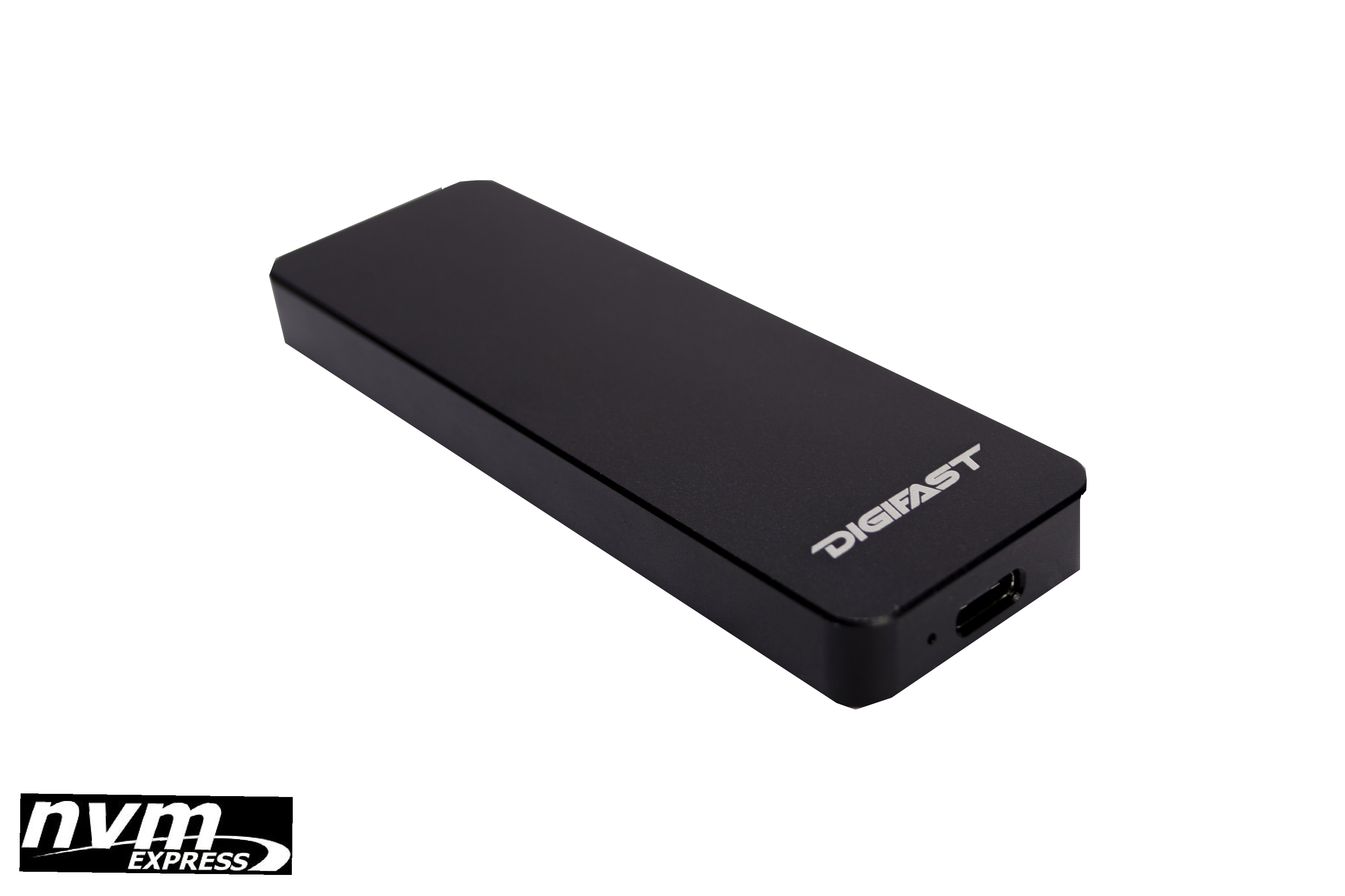 M.2 Enclosure - Digifast M.2 NVMe SSD To USB3.1 Enclosure - Black