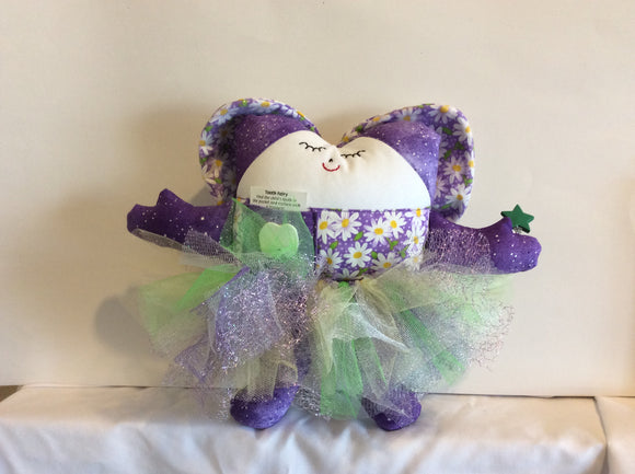 Purple daisy tutu