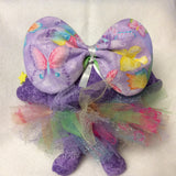 Purple butterfly tutu
