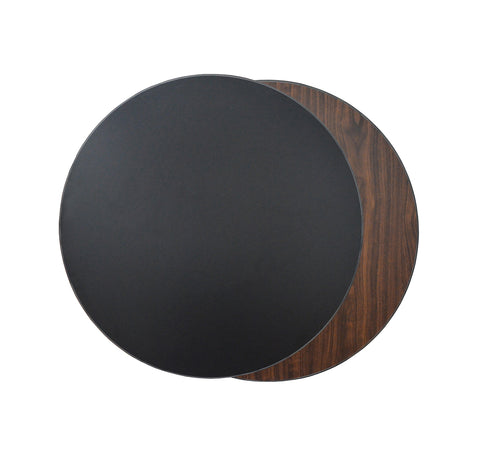 #T1-BW-R  (BLACK & WALNUT)