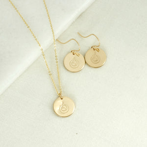 Breastfeeding Necklace and Earring Gift Set