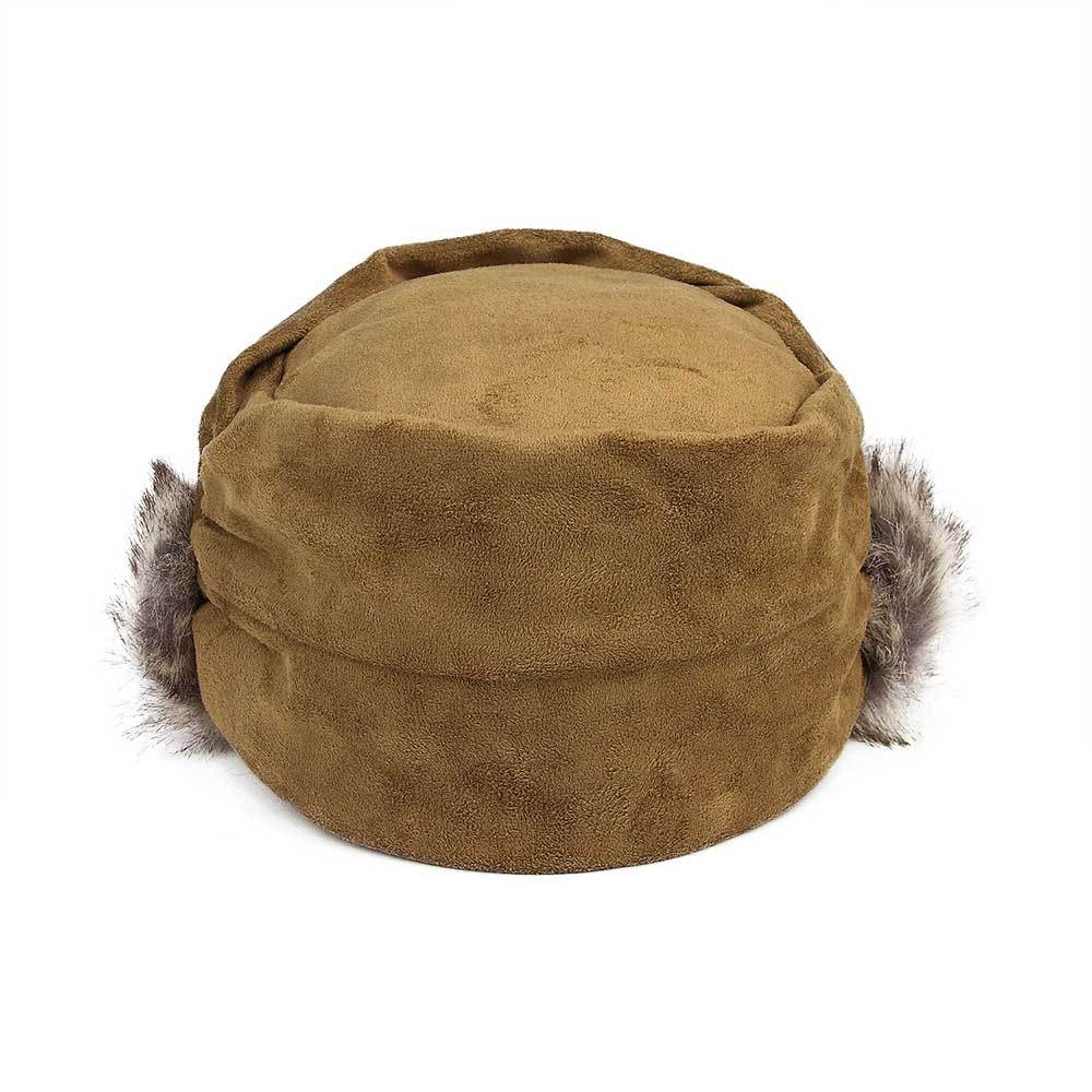 Suede Furry Fashion Newsboy Cap