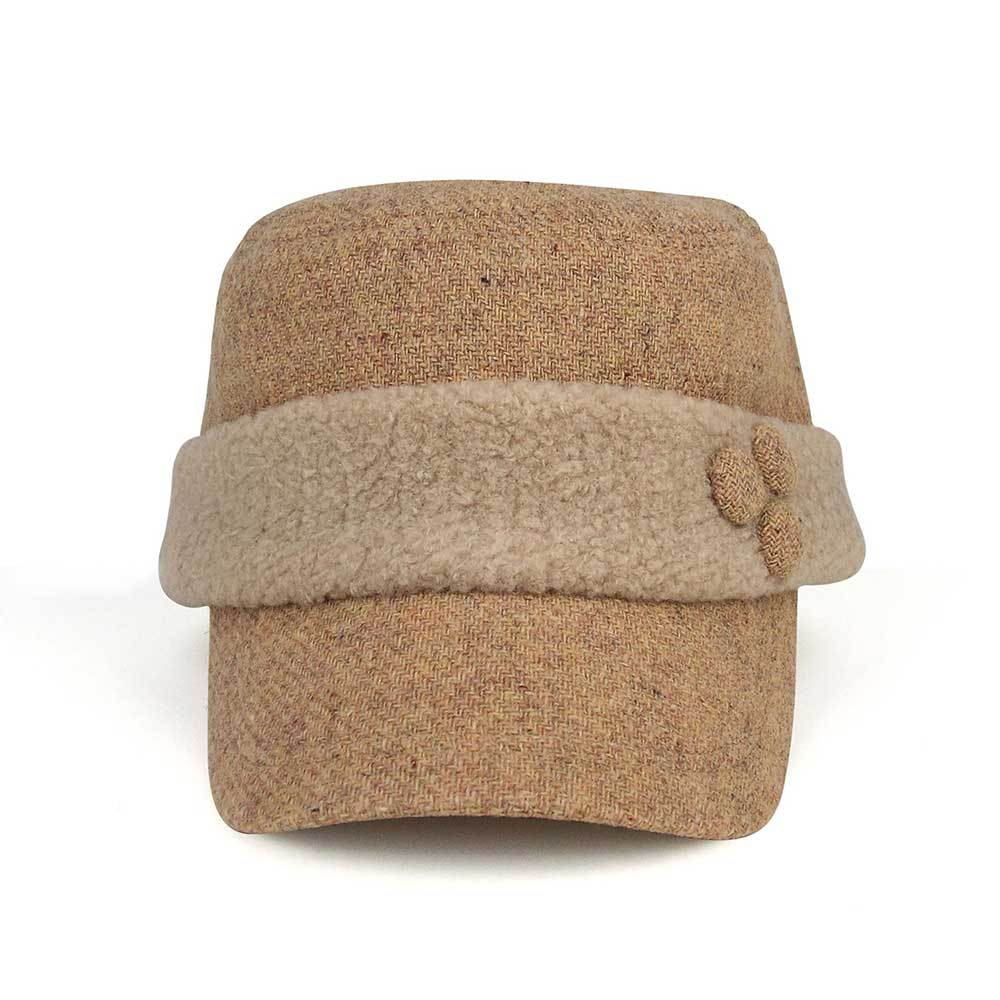 Berber Fleece Wool Fashion Army Cap