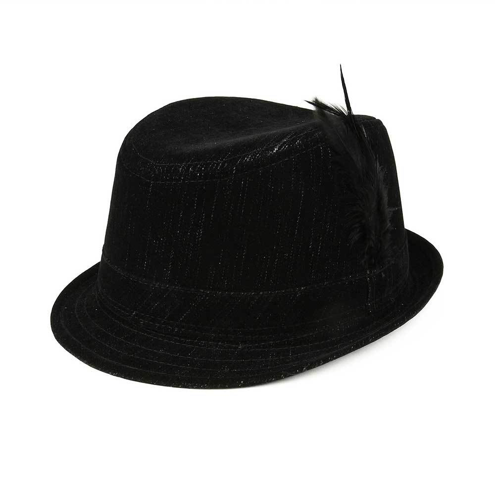 Fashion Denim Fedora Hat