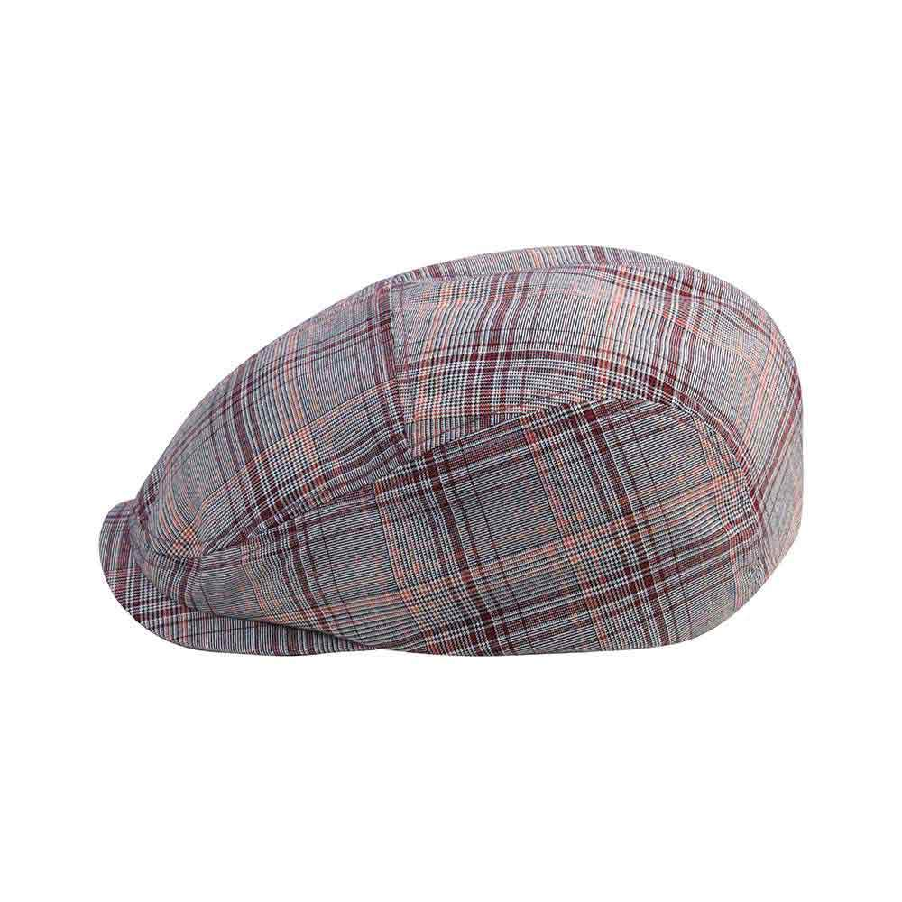 Polyester Plaid Ivy Cap