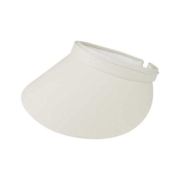 Women's Brushed Cotton Twill Clip-On Visor