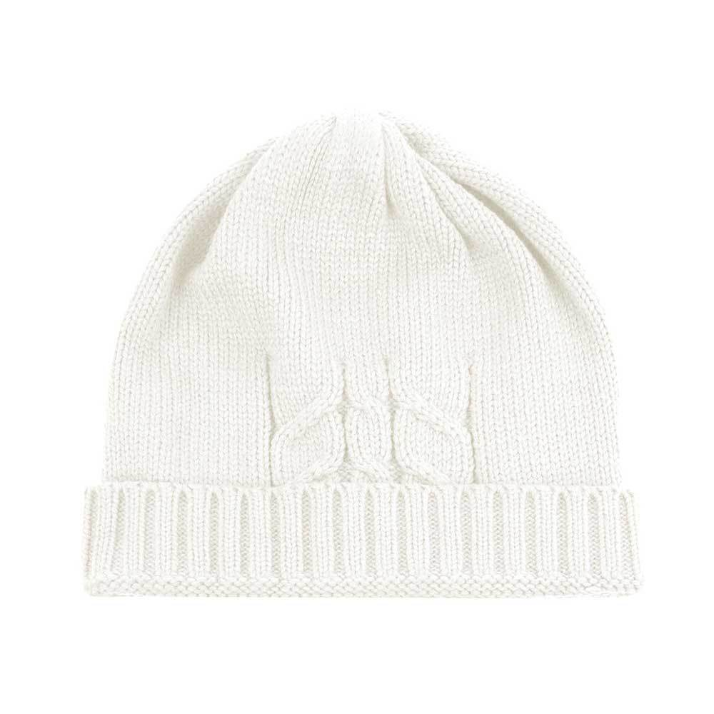 Unisex Knit Ribbed Beanie