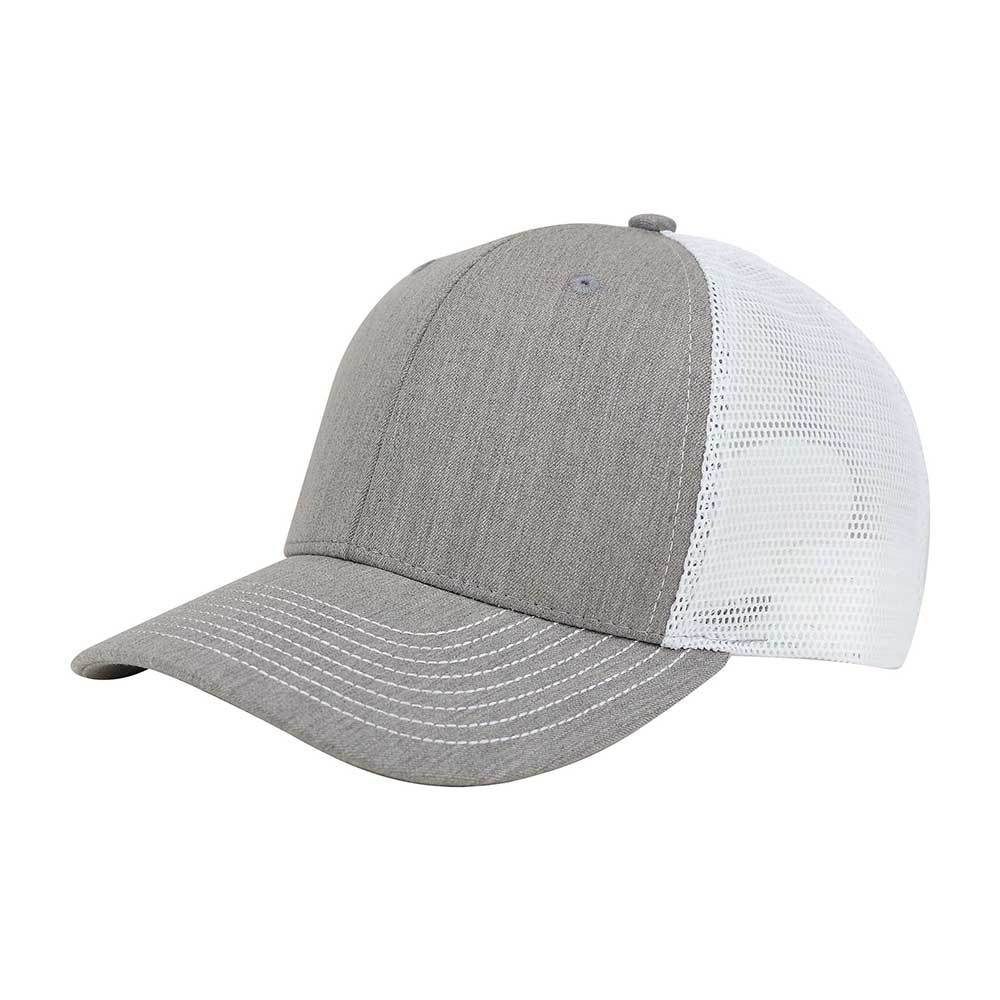 Customized Swoosh and Tail Heather Suiting Trucker Cap