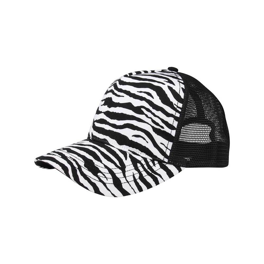 Animal Print Trucker Cap