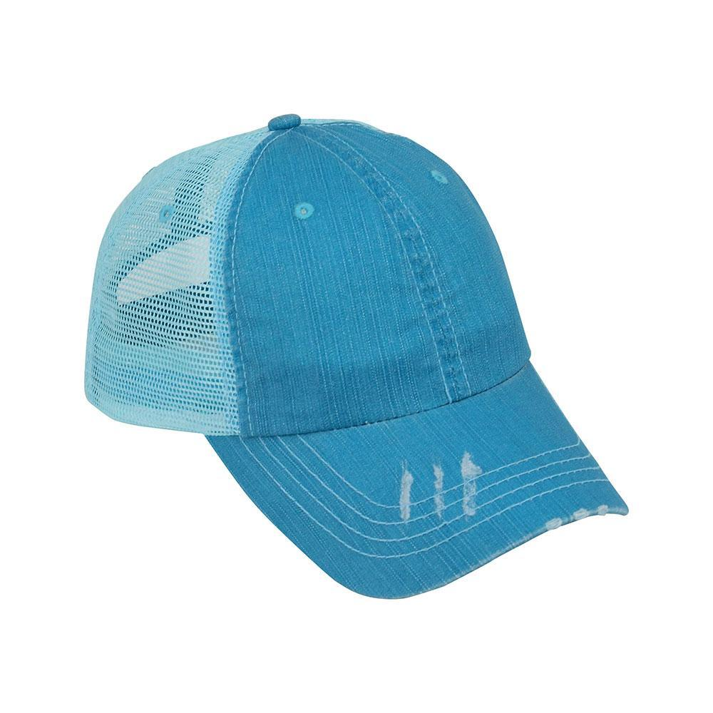 Customized Wife Mom Boss Twill Mesh Cap