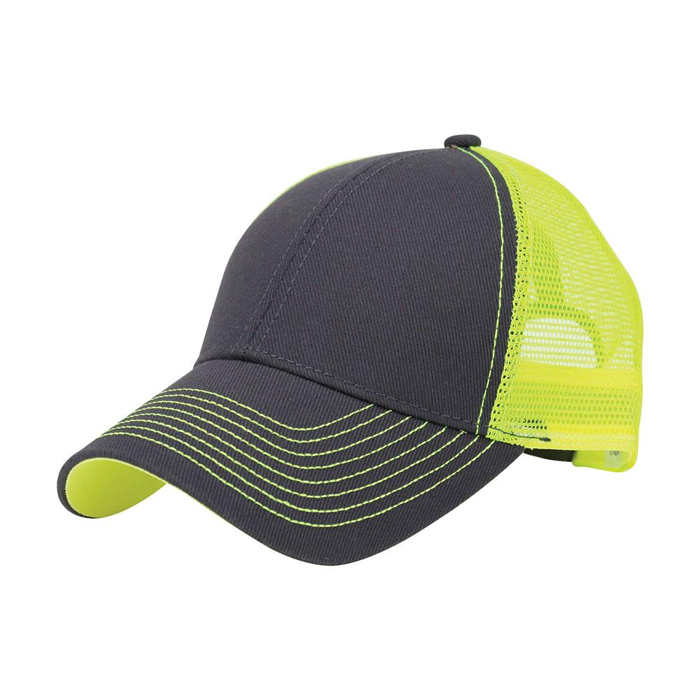 Customized Monogram Neon Heavy Trucker Cap