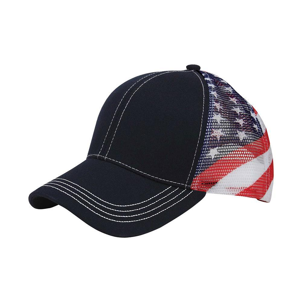 Patriot Trucker Mesh Cap