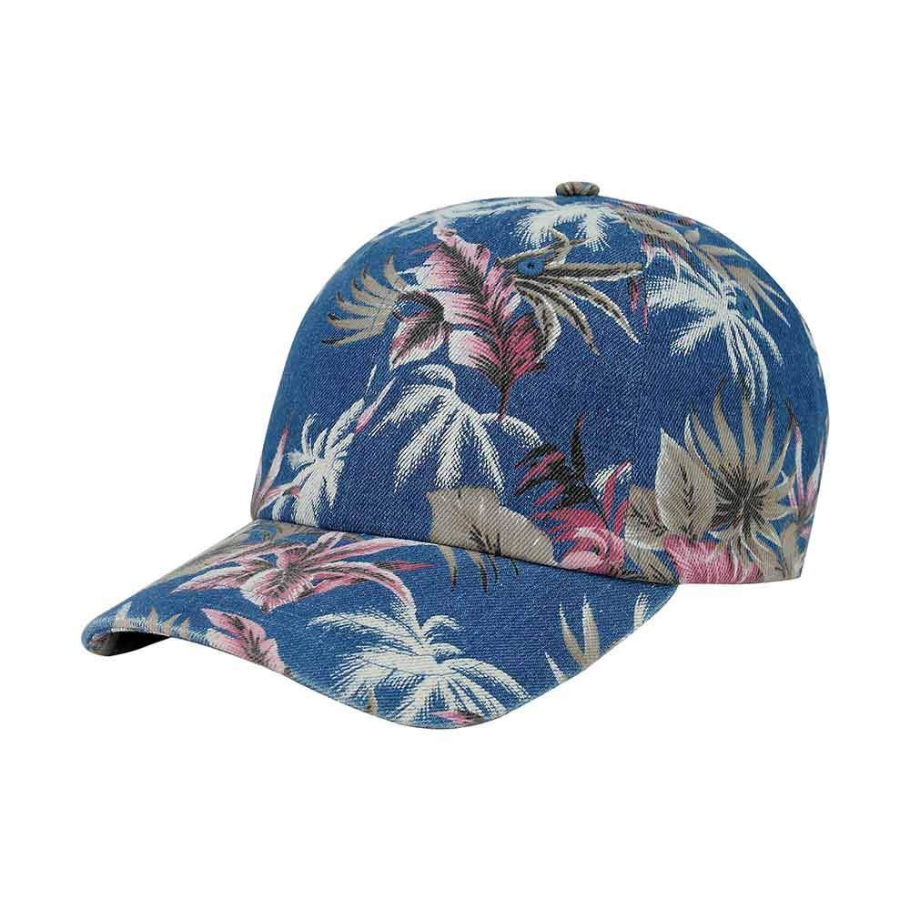 Customized Floral Denim Cap