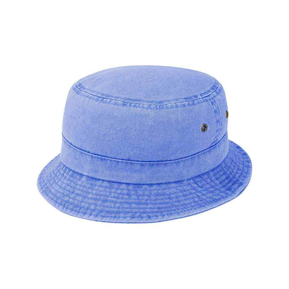 Pigment Dyed Washed Bucket Hat