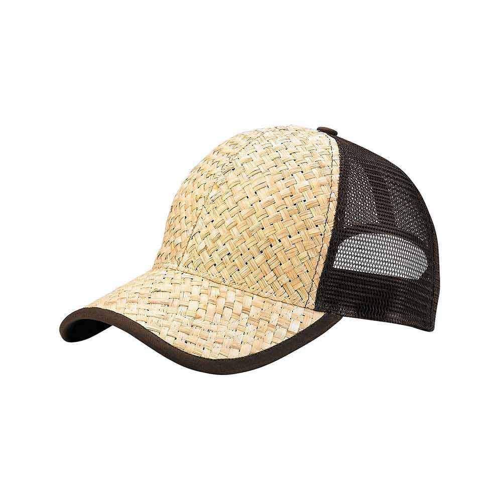 Fashion Straw Trucker Cap