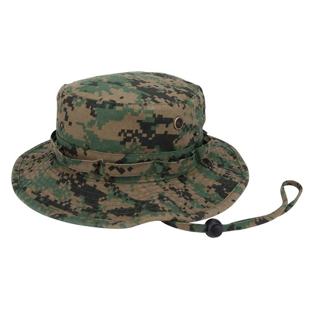 Camo Washed Twill Hunting Hat