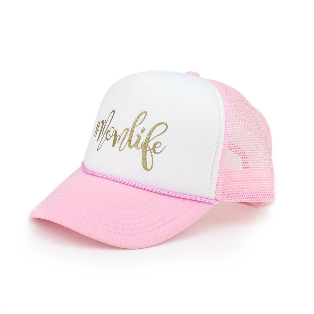 Hashtag Mom Life Cotton Foam Trucker Cap