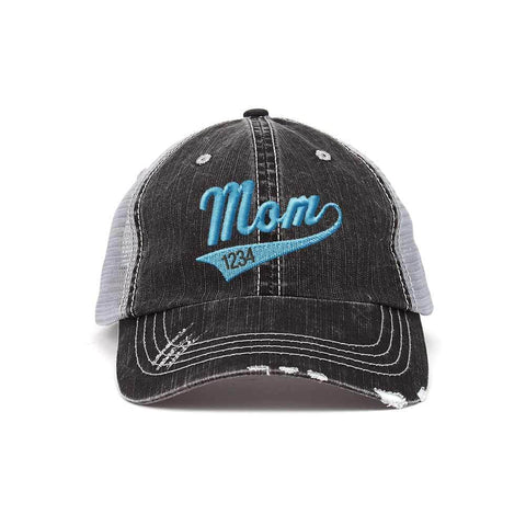 8225ce2164cbf Customized Mom Year Swoosh and Tail Trucker Cap – ISelections