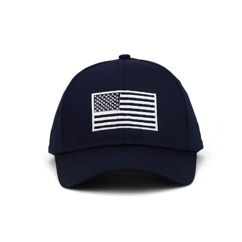 Customized USA Flag Poly Cotton Twill Cap – ISelections 272f657c6797