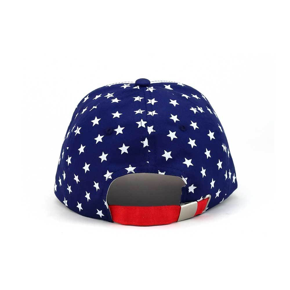 Structured USA Stars & Stripes Flag Cap