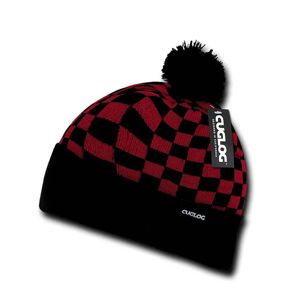 Changbai Checker Beanie