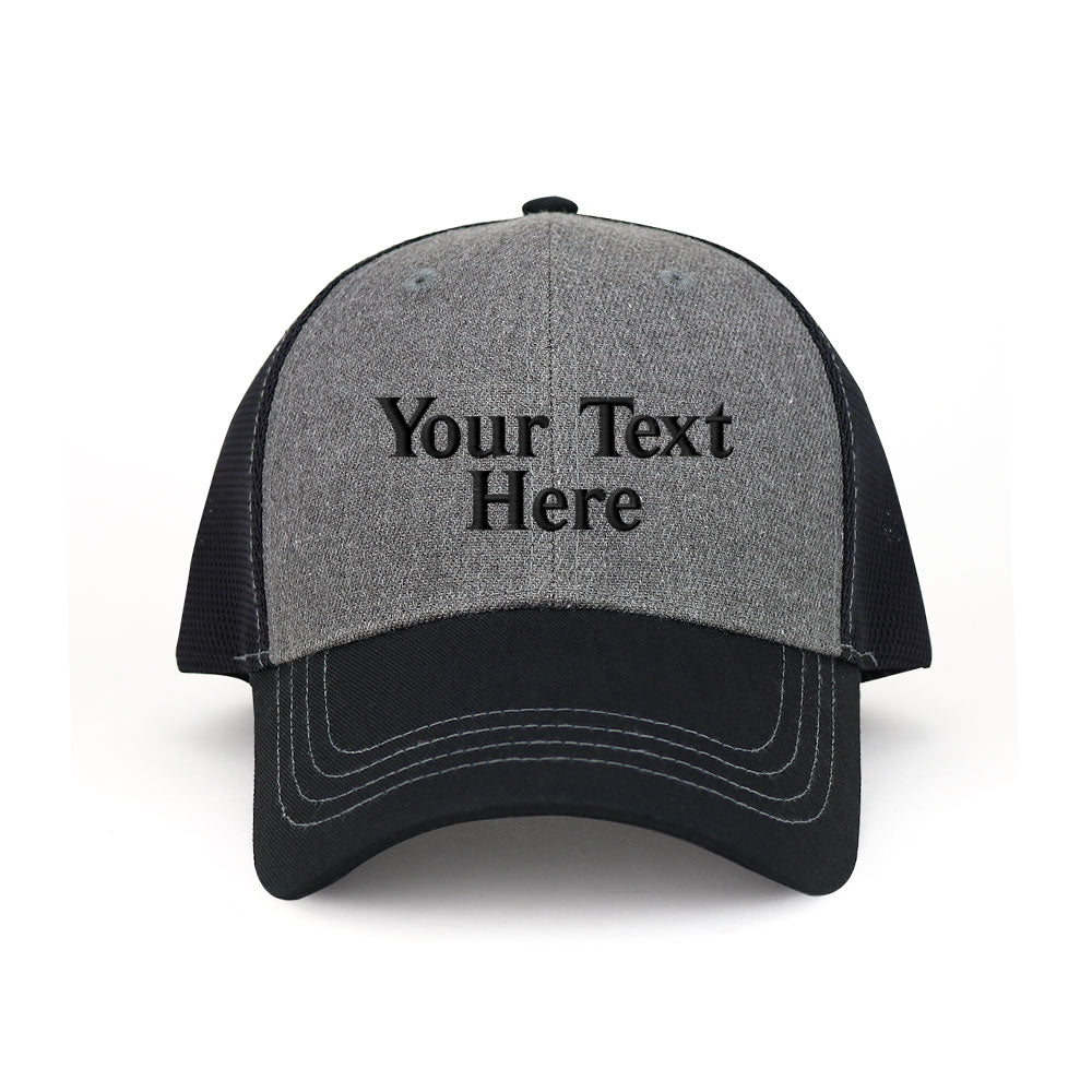 Customized Deluxe Mesh Trucker Cap