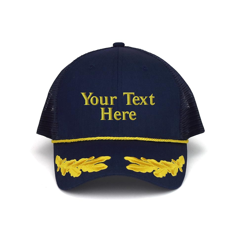 Customized Marine Trucker Cap