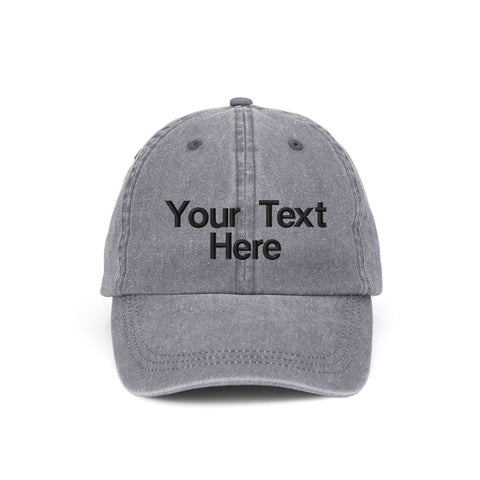 Customized Washed Cotton Cap