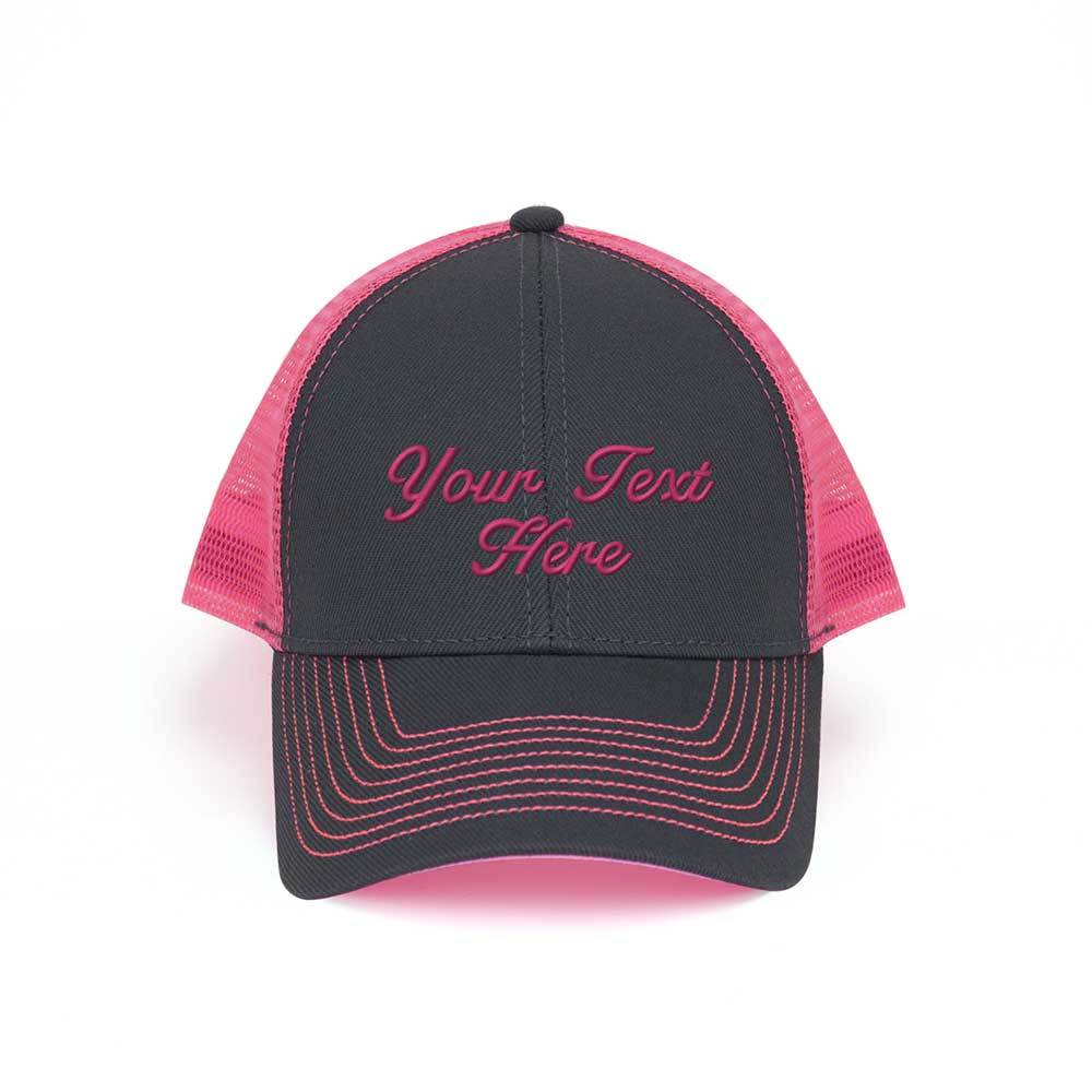 Customized Neon Heavy Trucker Cap