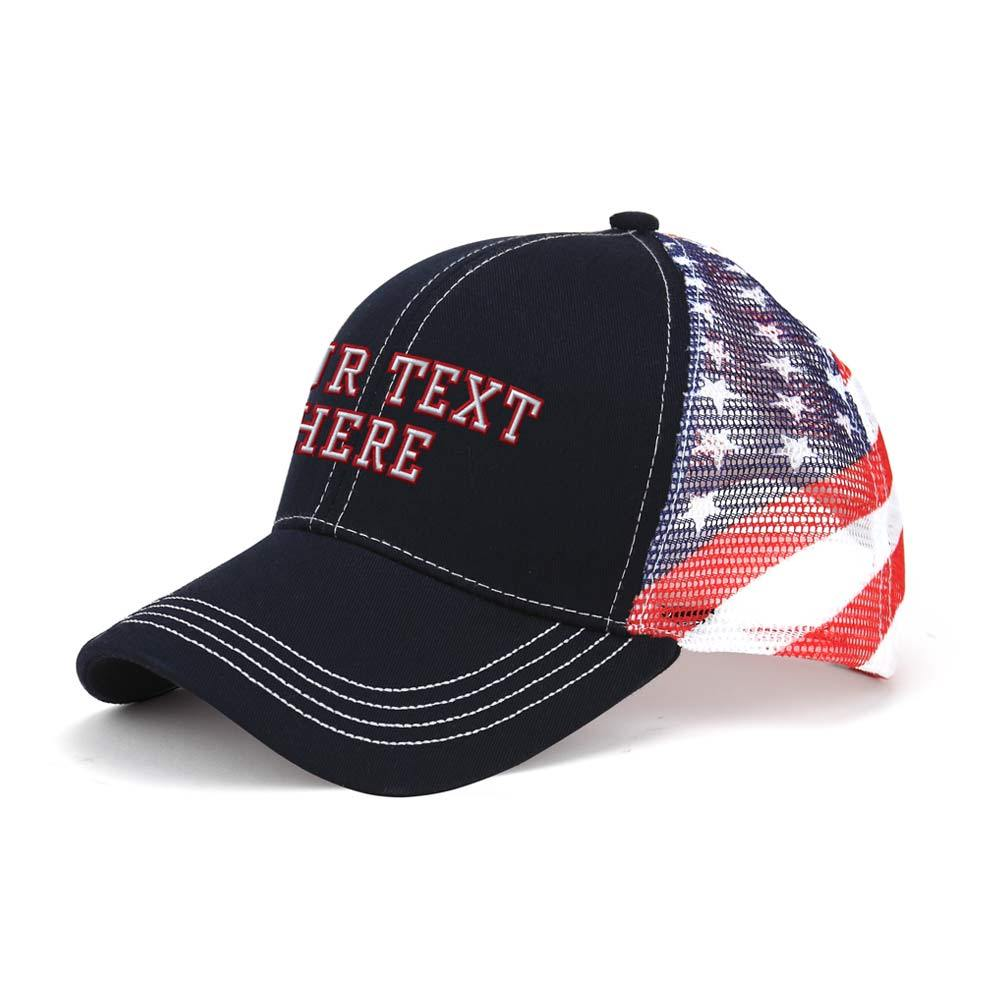 Customized Patriot Trucker Cap