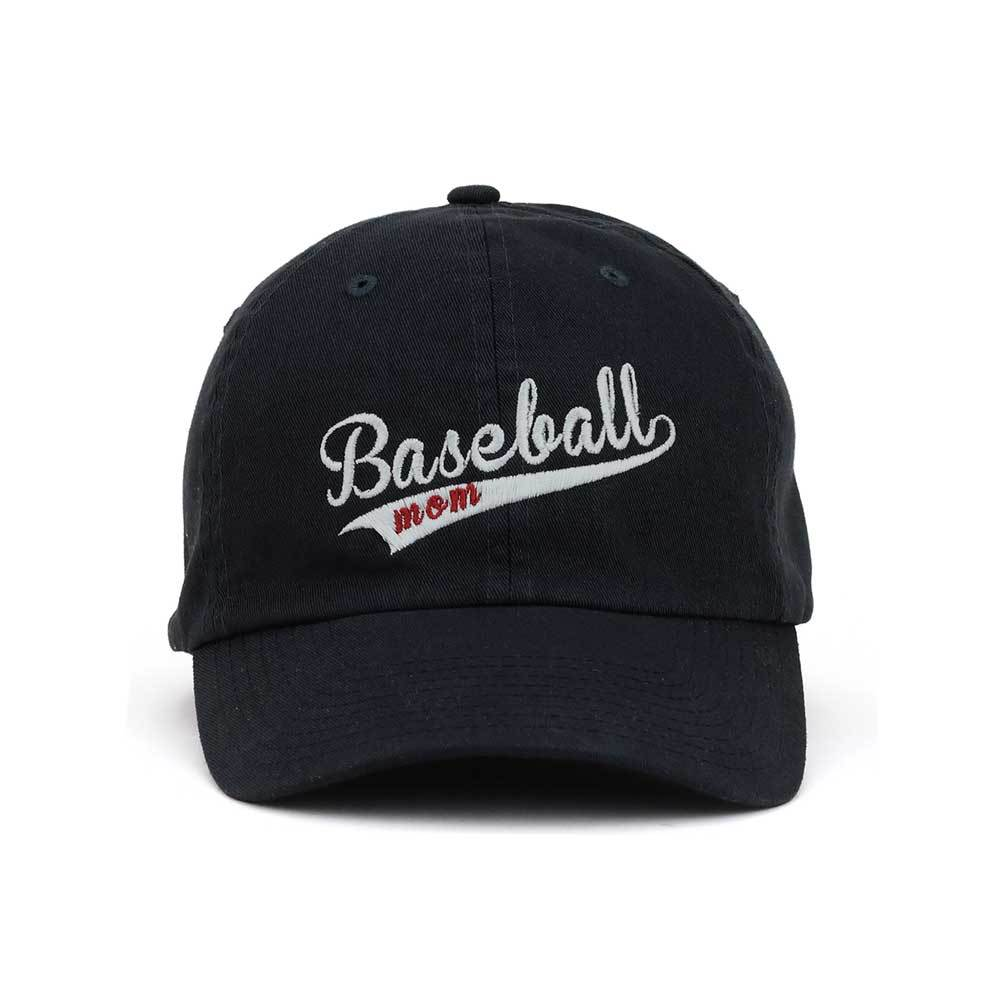 Customized Swoosh and Tail Baseball Mom Cotton Cap