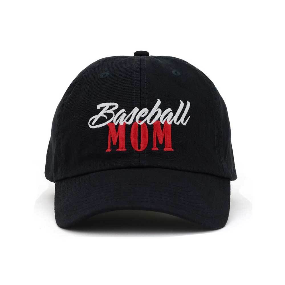 Customized Baseball Mom Low Profile Cotton Cap