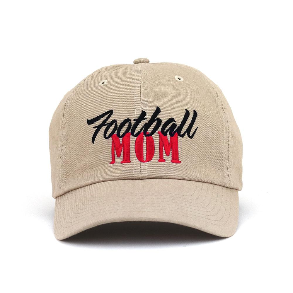Customized Football Mom Low Profile Cotton Cap – ISelections 8861020d5b21