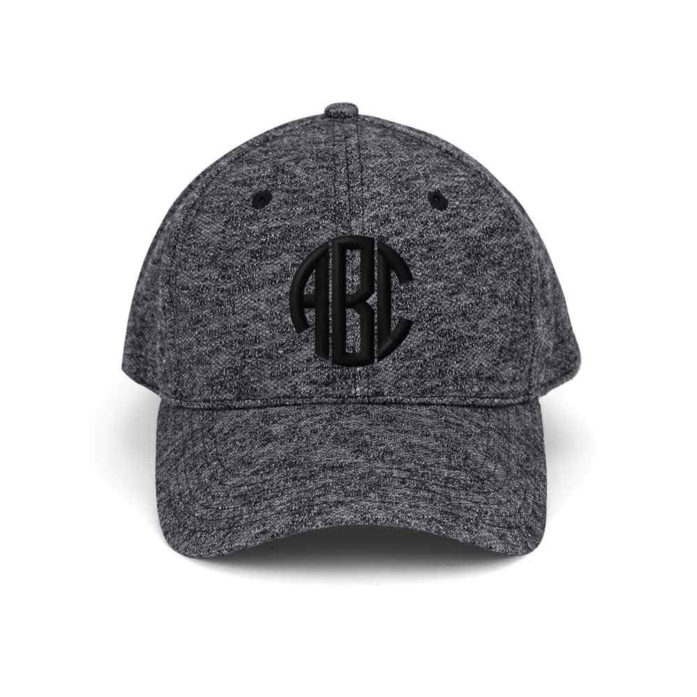 Customized Monogram Heather Cap
