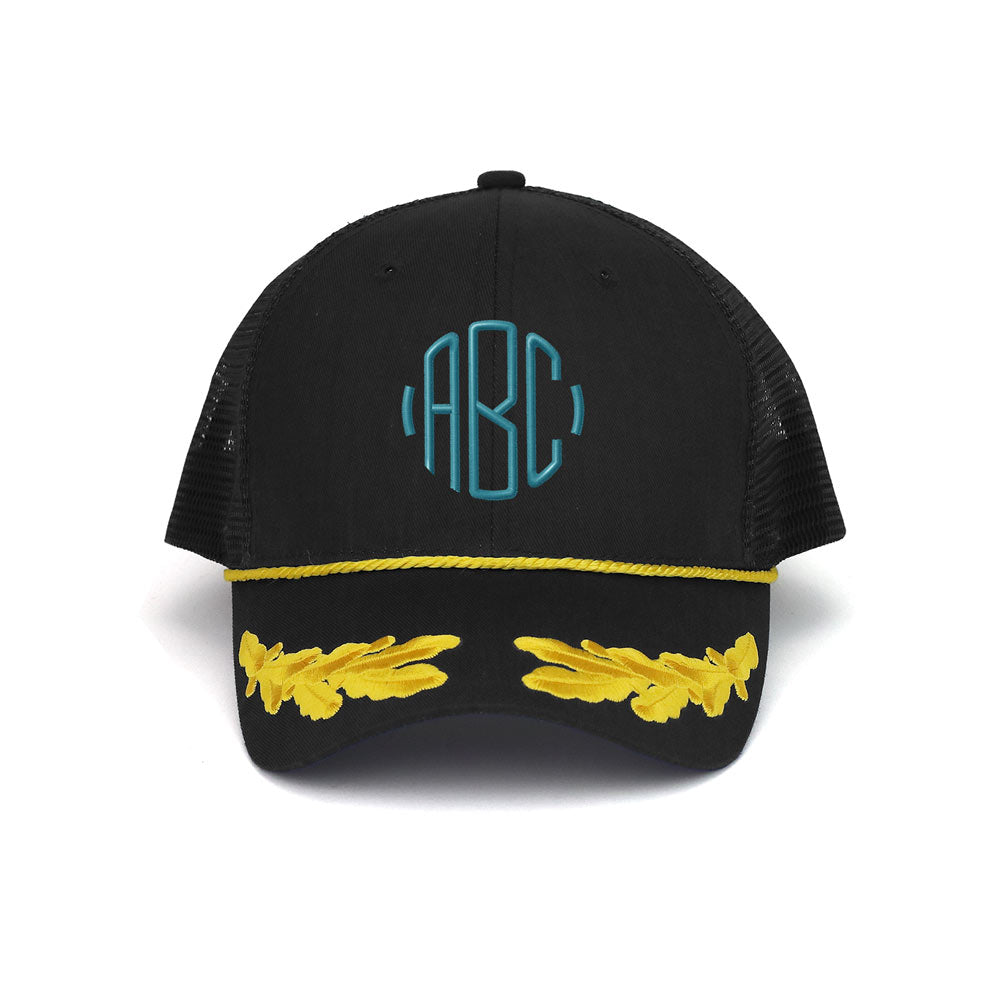 Customized Monogram Marine Trucker Cap