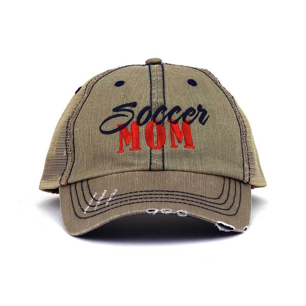 Customized Soccer Mom Twill Mesh Trucker Mesh Cap