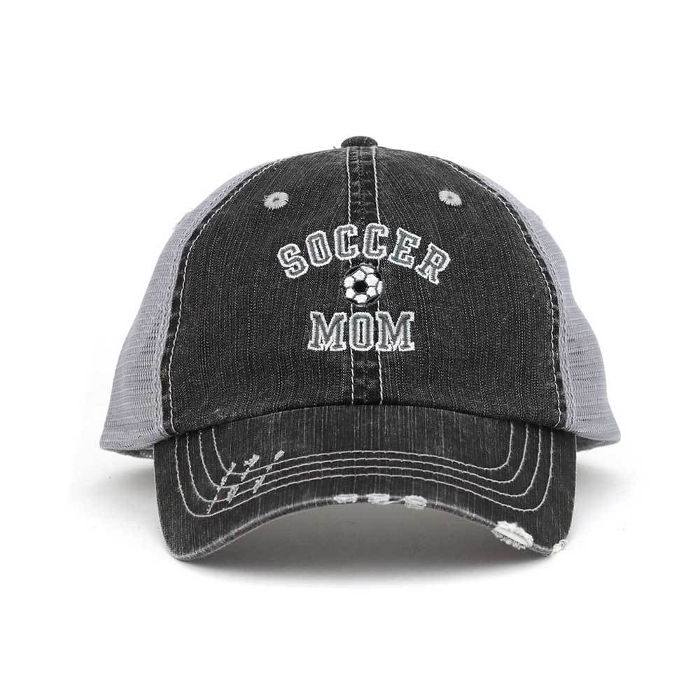 Customized Soccer Mom Graphic Twill Mesh Trucker Cap