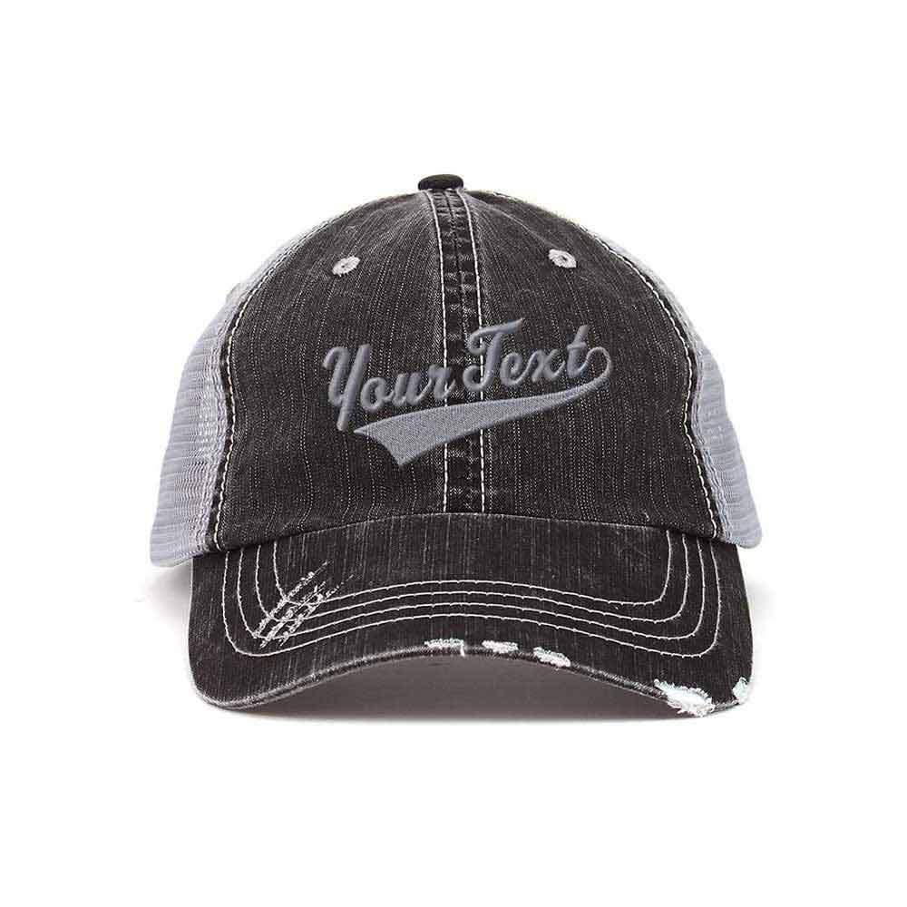 Customized Swoosh and Tail Trucker Hat