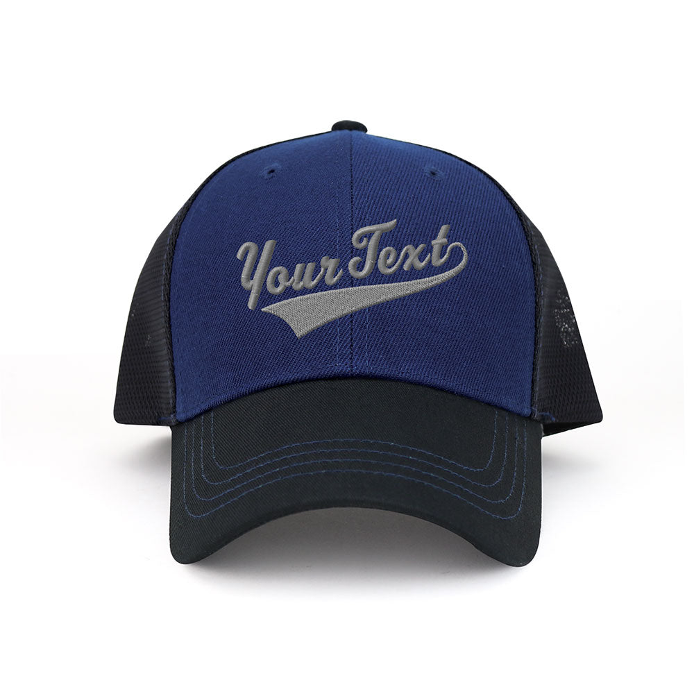 Customized Swoosh and Tail Deluxe Mesh Trucker Cap