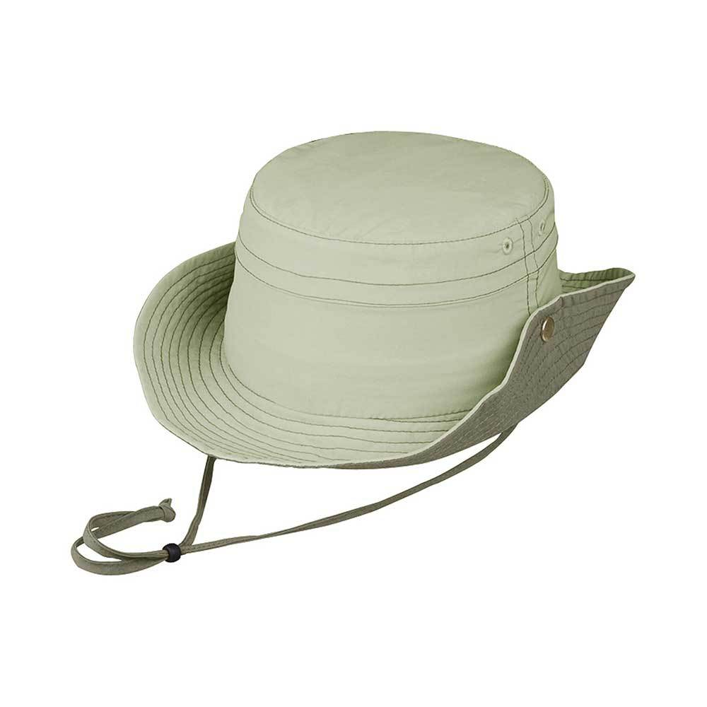 Taslon UV Bucket Hat with Side Snaps