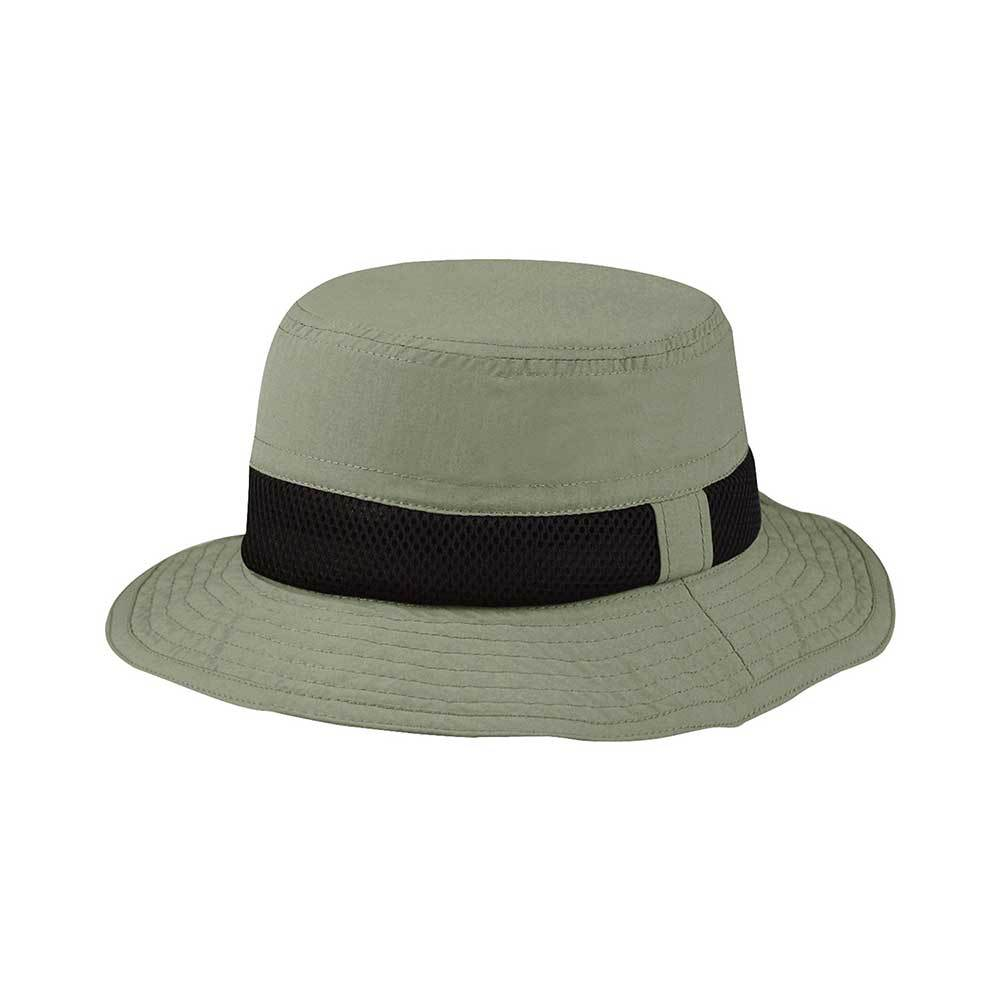 Taslon UV Bucket Hat with Meshed Crown